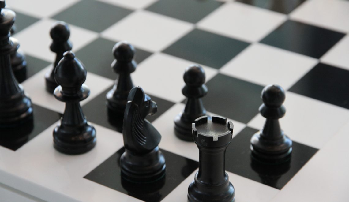 black and white chess board game pexels