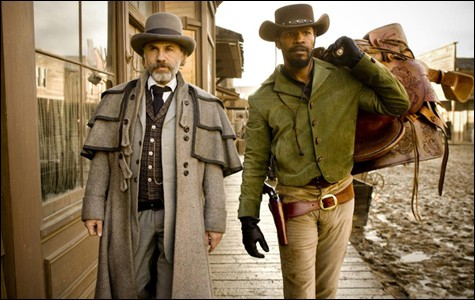 Django Unchained Film Review Critic Jamie Foxx Christophe Waltz