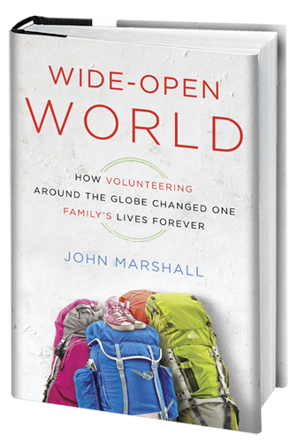 Wide Open World travel writing by John Marshall
