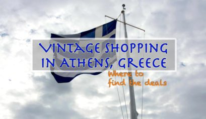 Vintage Shopping Athens Greece Travel Writing Workshops Classes Retreats