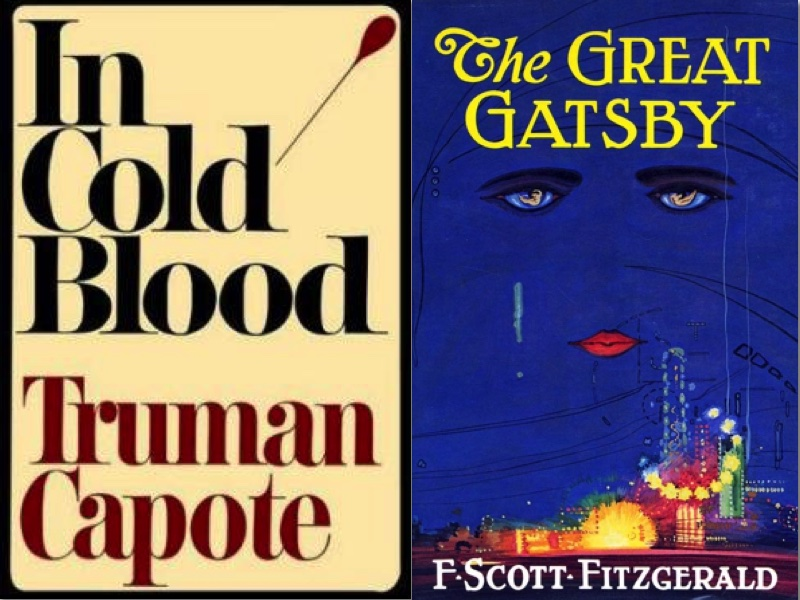 Treatment of Time in Narrative Capote Fitzgerald Book Covers