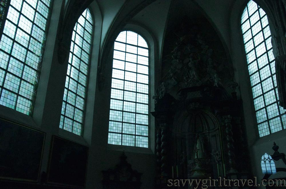 Brussels Belgium Cathedral Solo Female Traveler Travel Writing Workshops Chapel Church