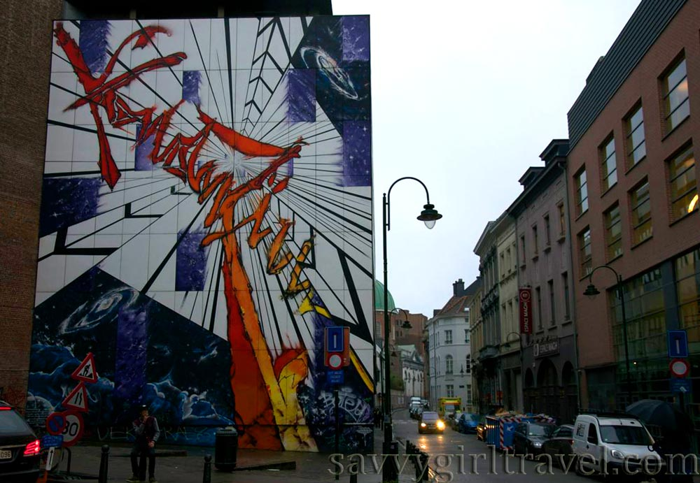 Brussels Street Art Belgium Traveler Solo Writing Workshops
