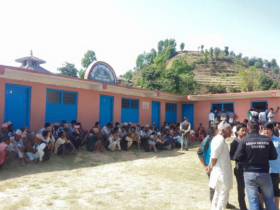 Dhading Nepal School Damaged after 2015 Earthquake Travel Writing