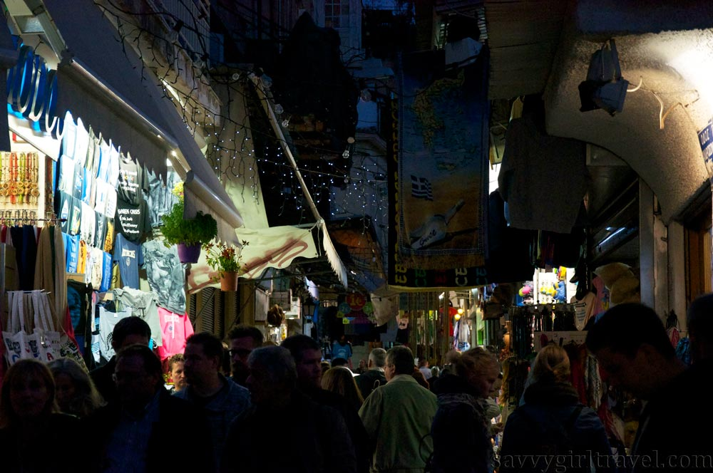 Monastiraki Street Market in Athens, Greece Hayley Swinson Travel Writer Workshops