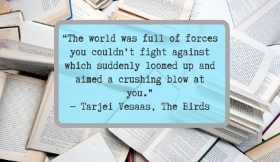 The Birds Tarjei Vesaas book review literary fiction workshops