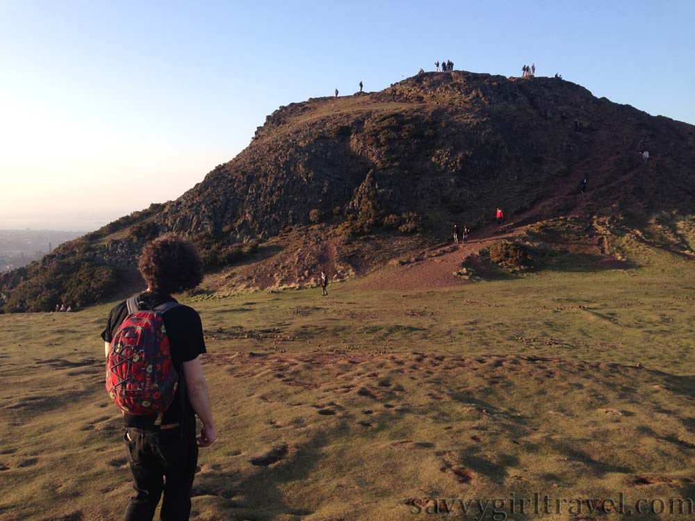 Expat Life On Leaving Home Edinburgh Scotland UK Arthurs Seat Travel Writing Workshops