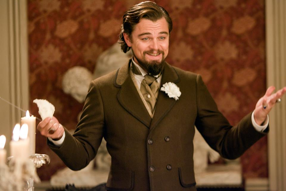 leo dicaprio Django unchained film review critic